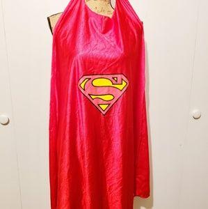 Superman/Supergirl red cape
